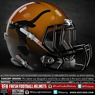 longhorn football helmet