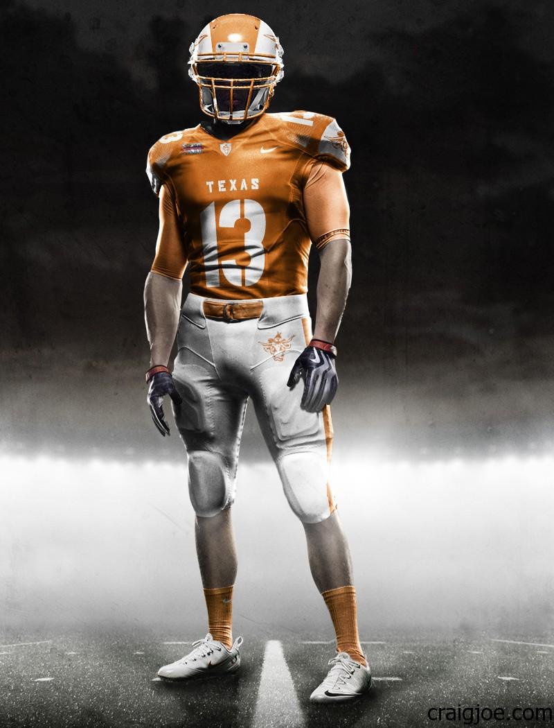new arrival 42d11 0243b Texas Longhorn Uniform Concept Designs