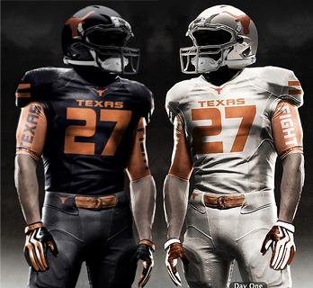new arrival e0b0a 8d035 Texas Longhorn Uniform Concept Designs