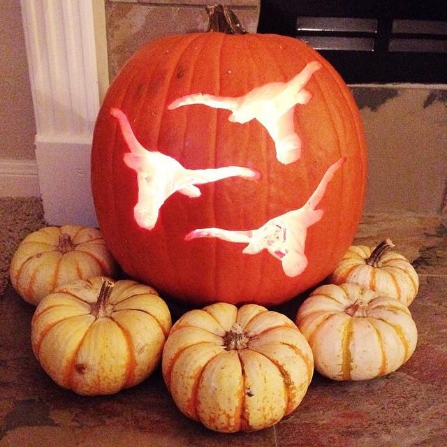 Texas Longhorn Pumpkin